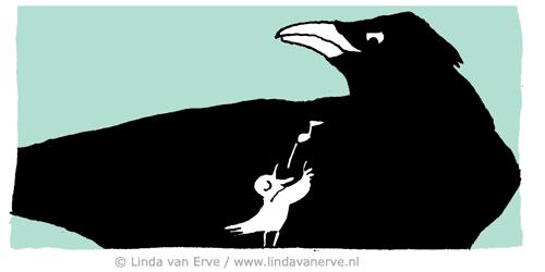 Linda van Erve las dit artikel en verbeeldde het zo. Met illustratie zorgt zij ervoor dat zelfstandige dienstverleners zich helder presenteren. Wil je zien hoe zij dit aanpakt? Kijk eens op haar website: www.lindavanerve.nl