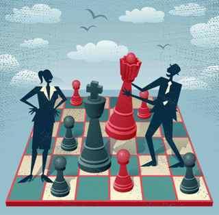 onderhandelcoach_schaakbord